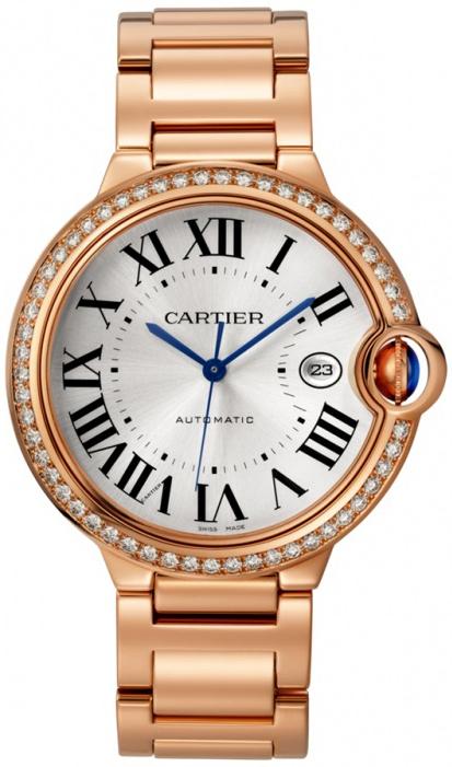 Cartier Ballon Bleu WJBB0038 Sølvfarget/18 karat rosé gull Ø42 mm - Cartier