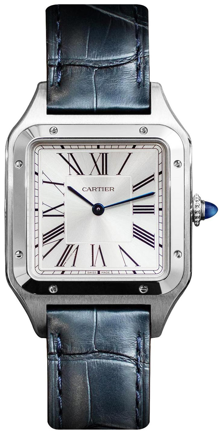 Cartier Santos Dumont WSSA0022 Sølvfarget/Lær - Cartier
