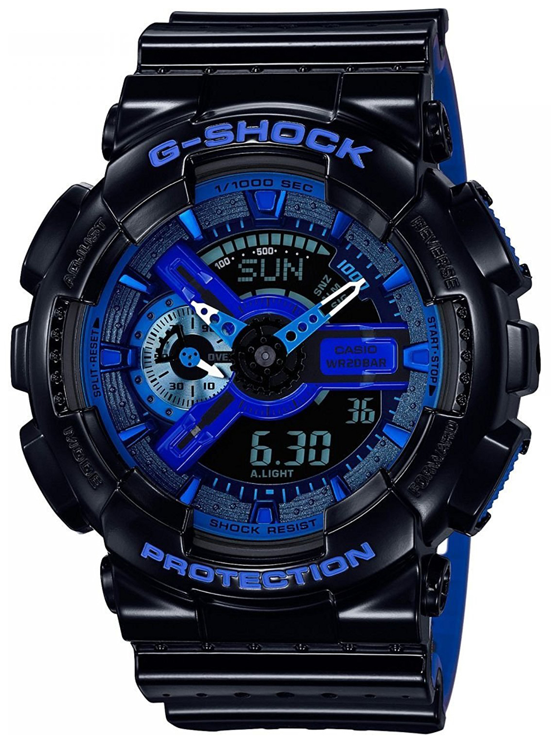 Casio G-Shock Herreklokke GA-110LP-1AER LCD/Resinplast Ø51 mm - Casio
