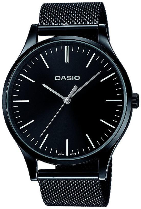 Casio Casio Collection LTP-E140B-1AEF Sort/Stål Ø46 mm - Casio