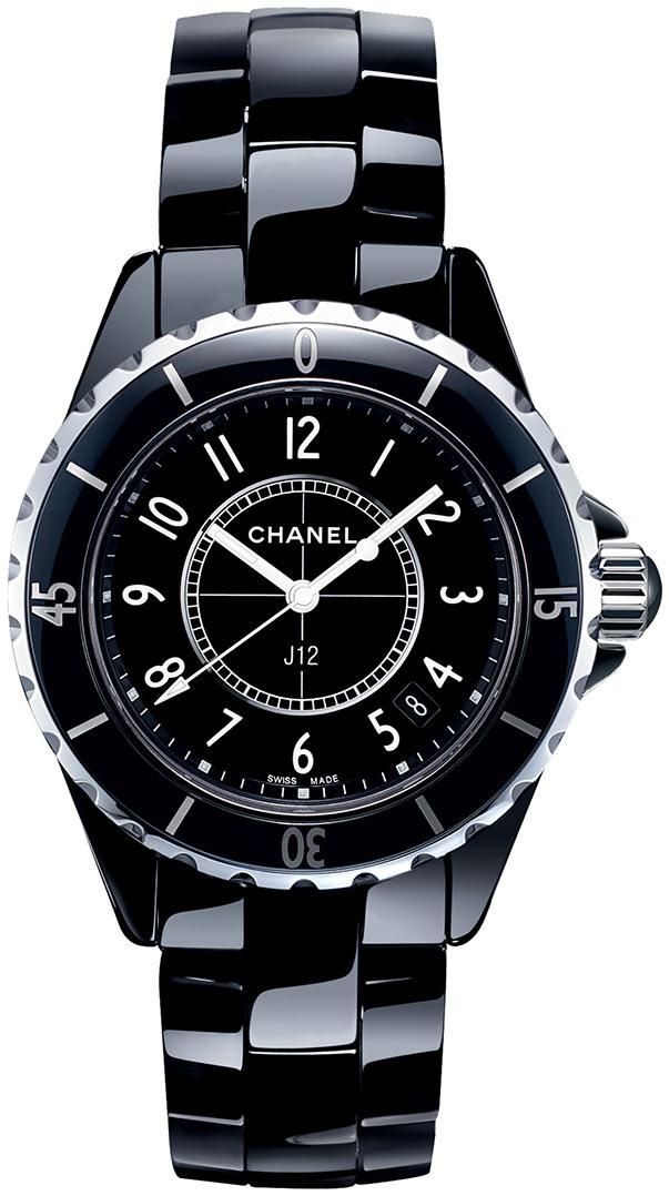 Chanel J12 Dameklokke H0682 Sort/Keramik Ø33 mm - Chanel