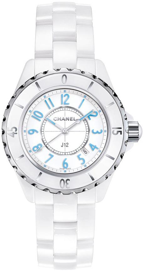 Chanel J12 Dameklokke H3826 Hvit/Keramik Ø33 mm - Chanel