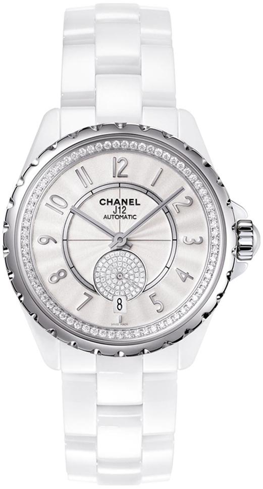 Chanel J12 Dameklokke H3841 Hvit/Keramik Ø36.5 mm - Chanel