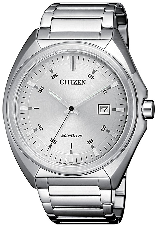 Citizen Eco Drive 180 Herreklokke AW1570-87A Sølvfarget/Stål Ø42 mm - Citizen