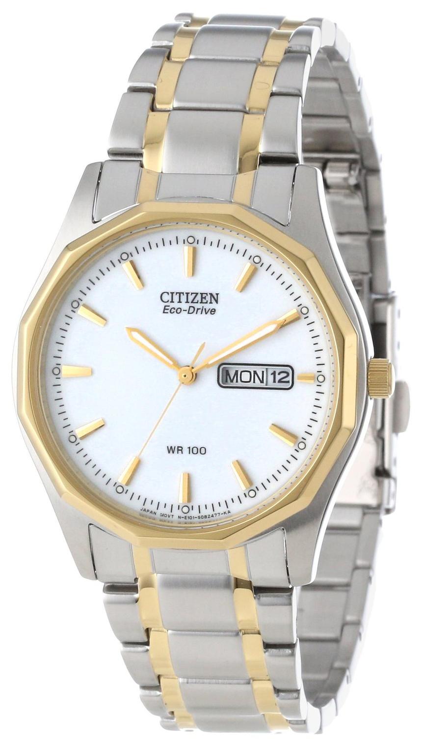 Citizen Herreklokke BM8434-58A Hvit/Stål Ø37 mm - Citizen