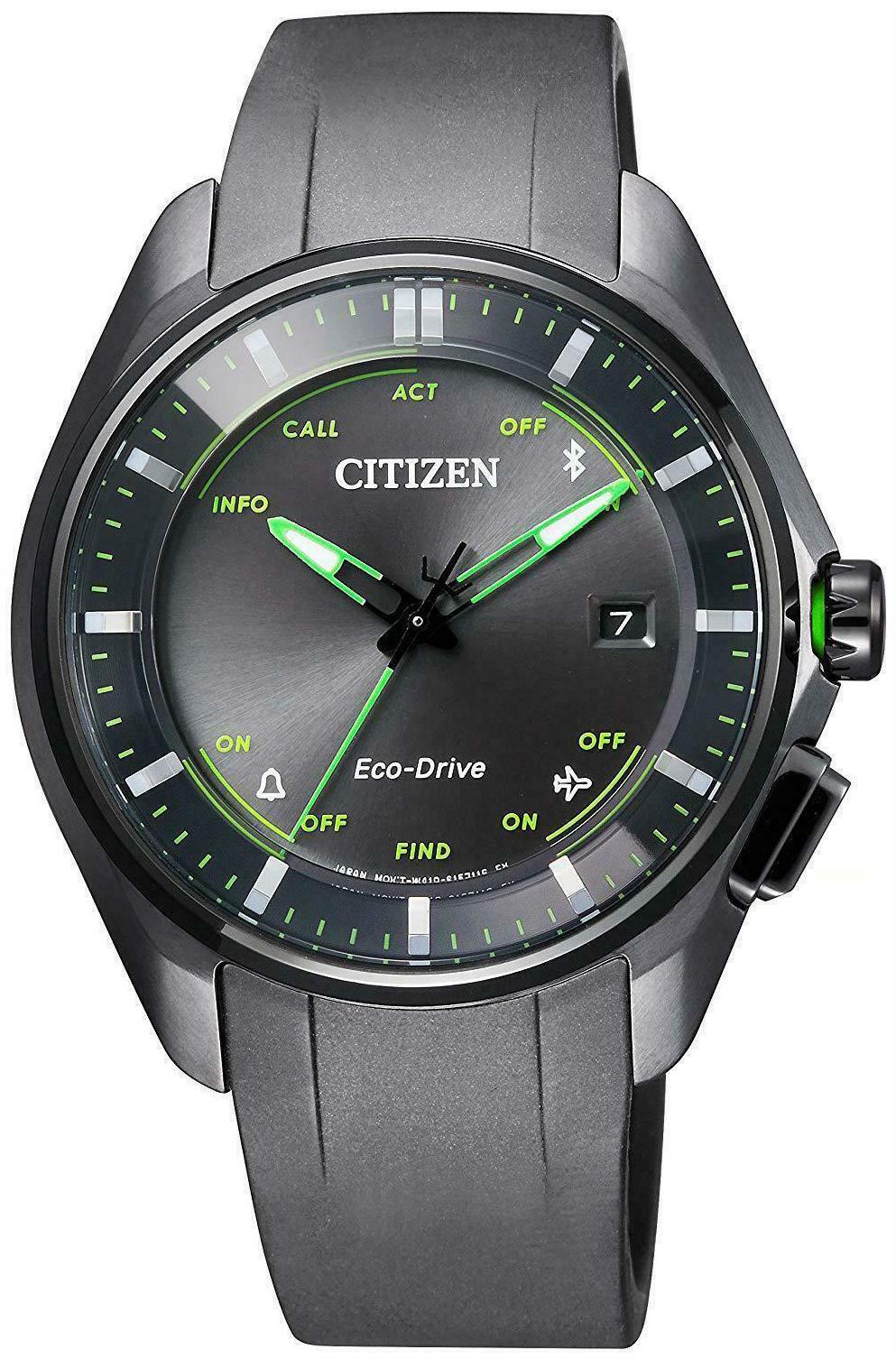 Citizen Titanium Herreklokke BZ4005-03E Grå/Gummi Ø40.5 mm - Citizen
