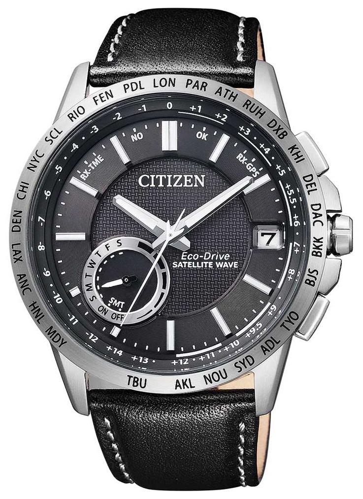 Citizen Elegance Herreklokke CC3000-03E Sort/Lær Ø43 mm - Citizen