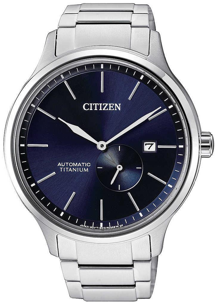 Citizen Titanium Herreklokke NJ0090-81L Blå/Titan Ø41.5 mm - Citizen