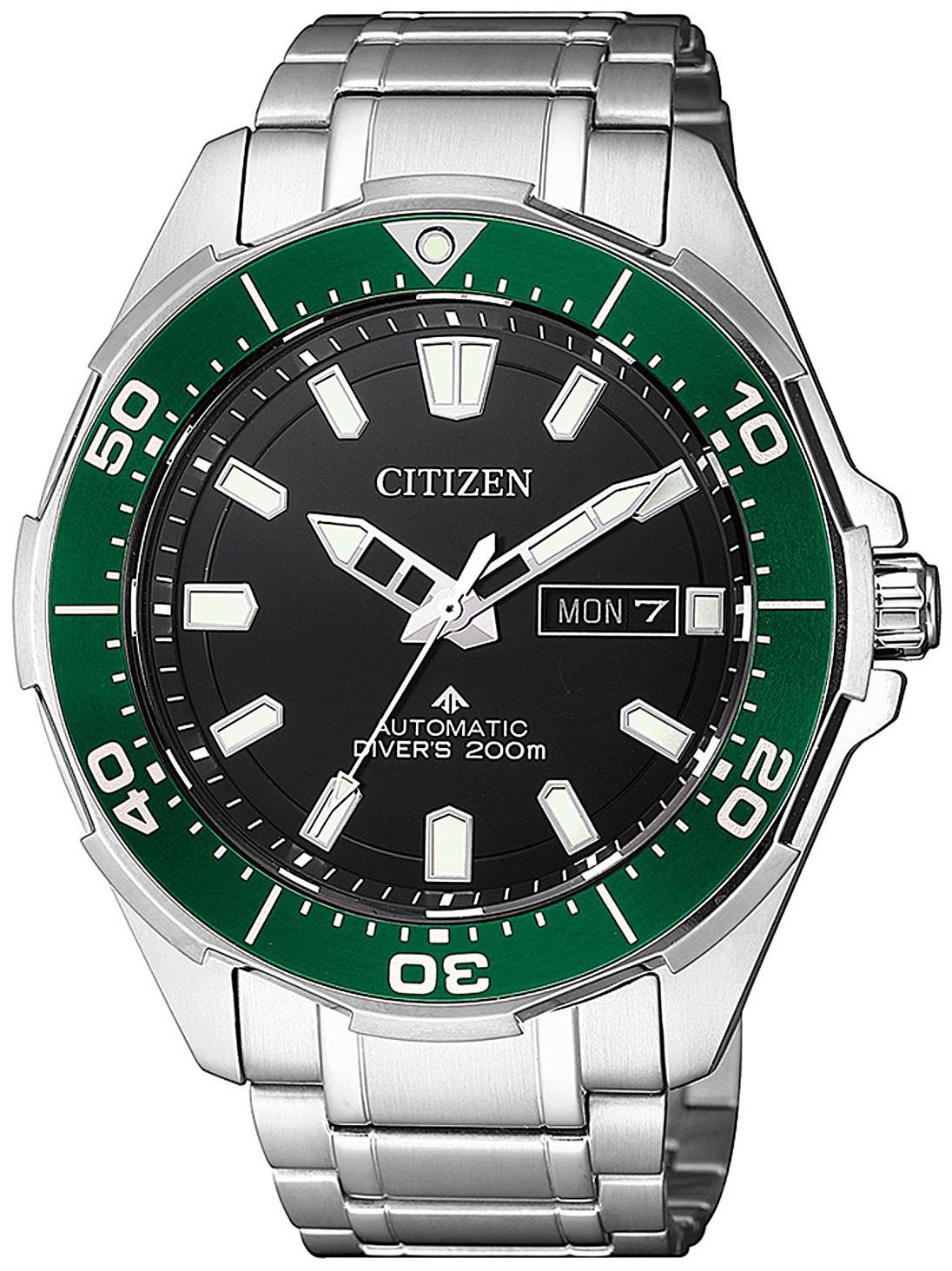 Citizen Promaster Herreklokke NY0071-81E Sort/Titan Ø46 mm - Citizen