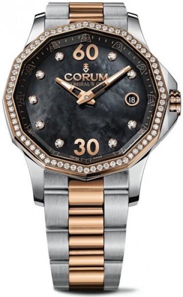 Corum Admirals Cup Legend 38 Dameklokke 082.101.29-V200 PN10 - Corum