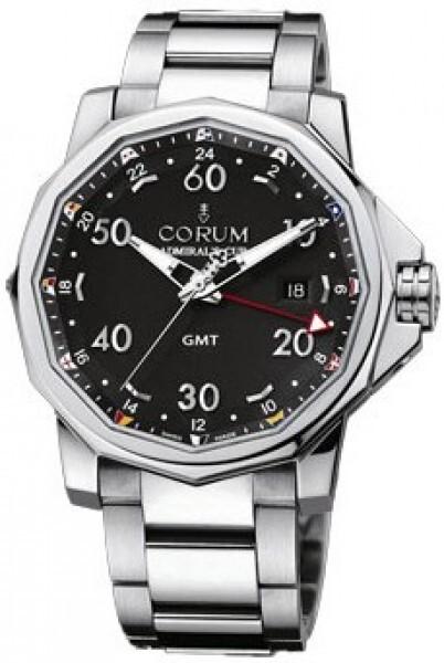 Corum Admirals Cup Challaenger 44 Herreklokke 383.330.20-V701 AN12 - Corum