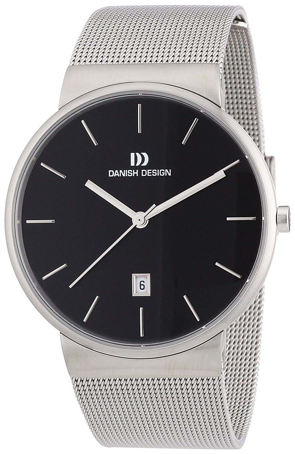 Danish Design Classic Herreklokke 3314409 Sort/Stål Ø40 mm - Danish Design