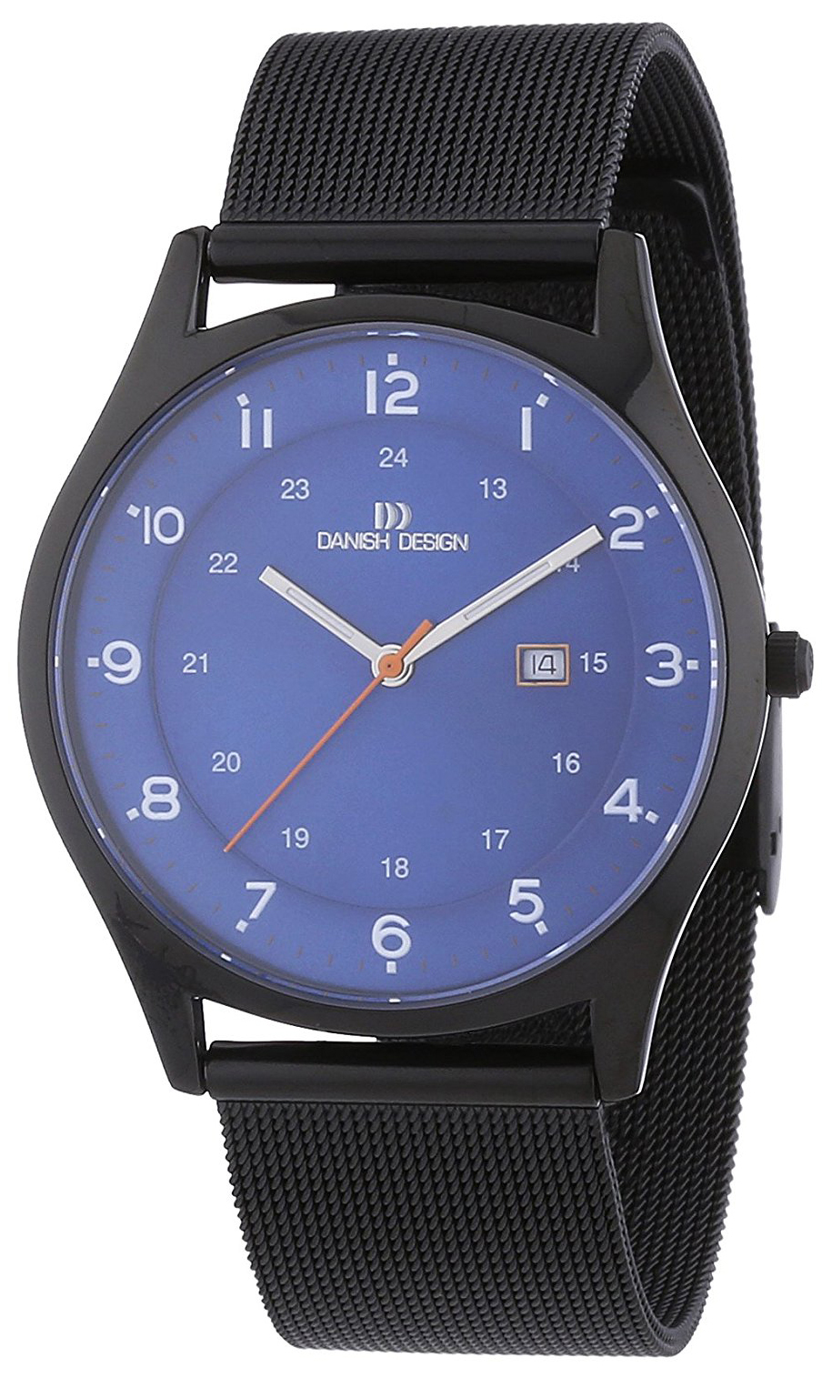 Danish Design Classic Herreklokke 3316324 Blå/Titan Ø38 mm - Danish Design