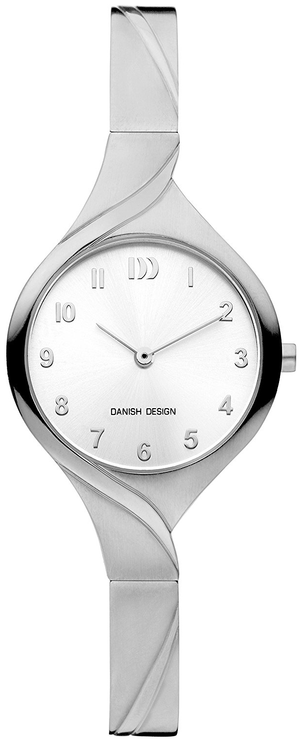 Danish Design Classic Dameklokke IV62Q1200 Sølvfarget/Titan Ø28 mm - Danish Design
