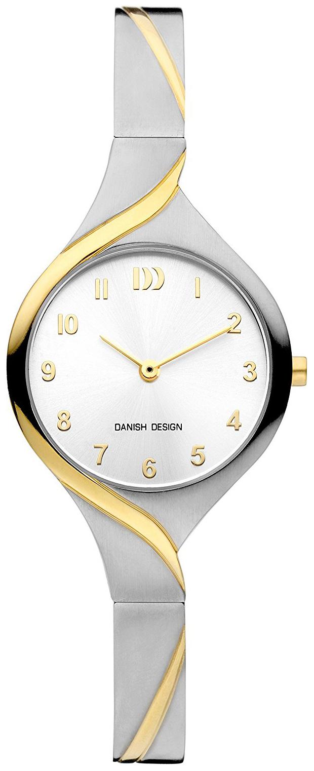 Danish Design Classic Dameklokke IV65Q1200 Sølvfarget/Gulltonet - Danish Design
