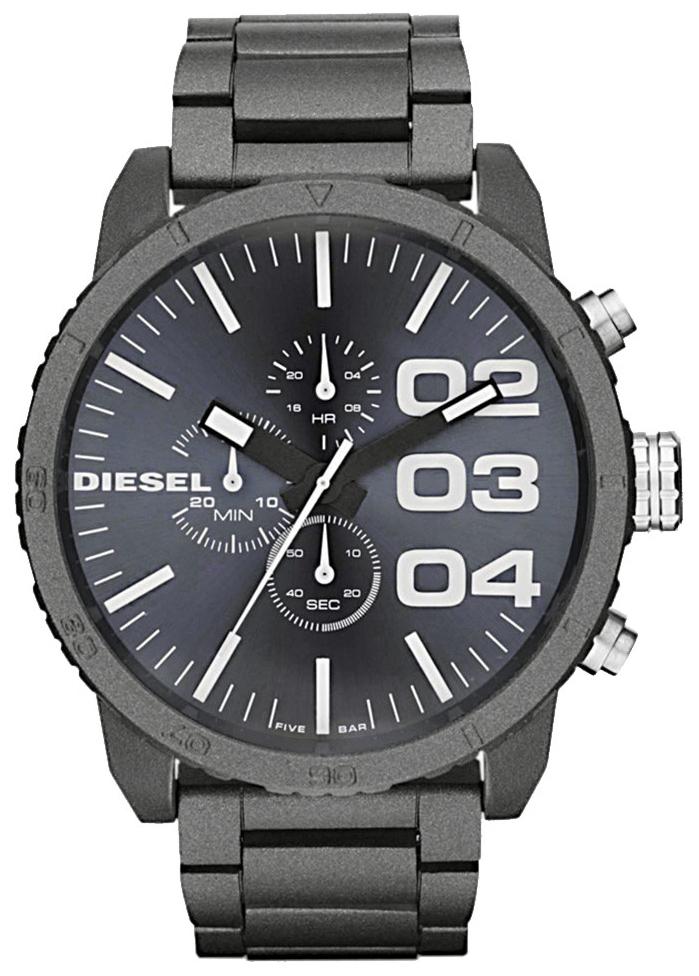 Diesel Chronograph Herreklokke DZ4269 Grå/Stål Ø51 mm - Diesel