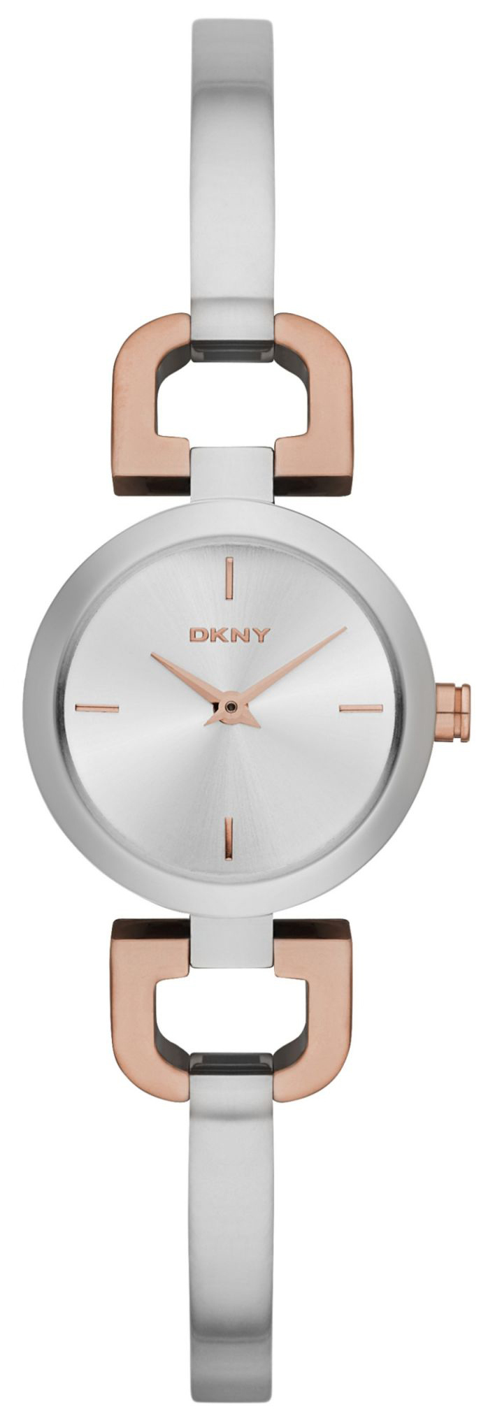 DKNY Bangle Dameklokke NY2271 Sølvfarget/Stål Ø24 mm - DKNY