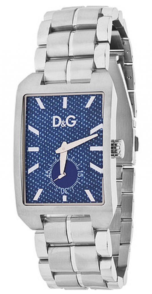 Dolce & Gabbana D&G Chamonix Herreklokke DW0638 Blå/Stål - Dolce & Gabbana D&G