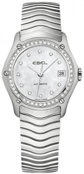 Ebel Classic Lady Dameklokke 1216003 Hvit/Stål Ø27.3 mm - Ebel