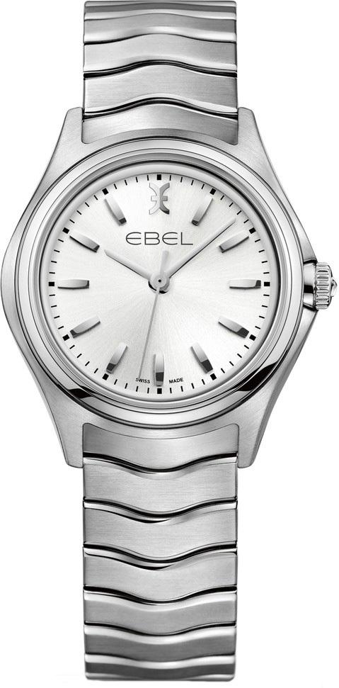 Ebel Wave Dameklokke 1216191 Sølvfarget/Stål Ø30 mm - Ebel