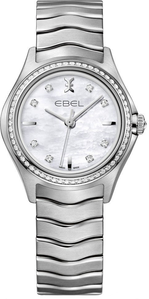 Ebel Wave Dameklokke 1216194 Stål Ø30 mm - Ebel