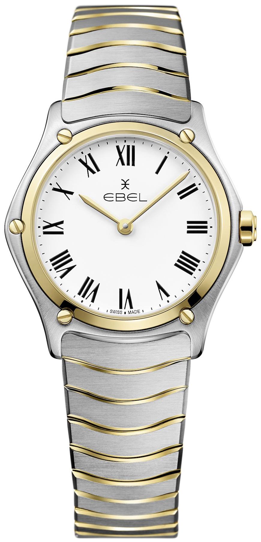 Ebel Classic Dameklokke 1216387 Hvit/18 karat gult gull Ø29 mm - Ebel