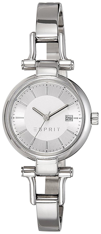 Esprit Dress Dameklokke ES107632004 Sølvfarget/Stål Ø28 mm - Esprit