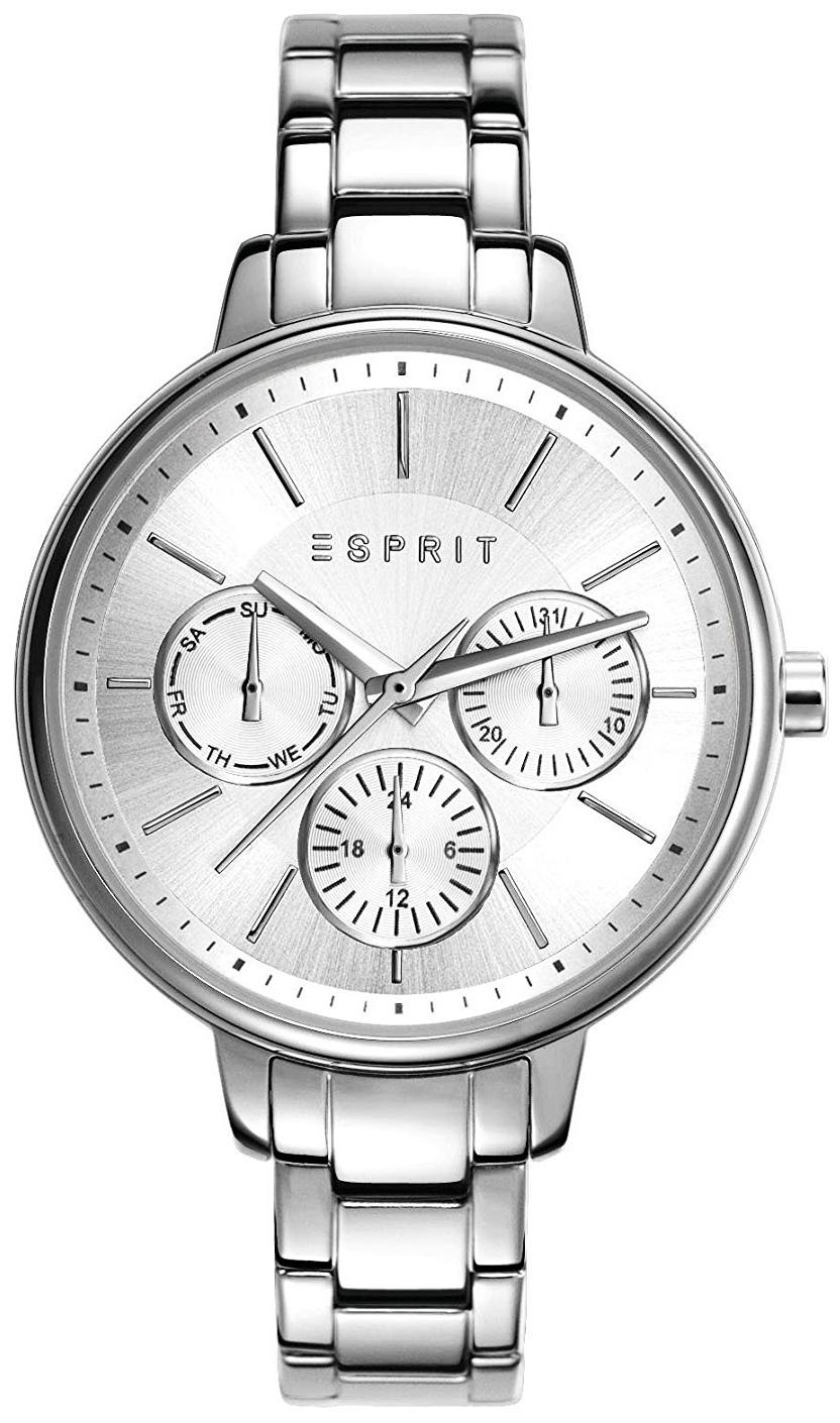 Esprit Sport Dameklokke ES108152001 Sølvfarget/Stål Ø36 mm - Esprit