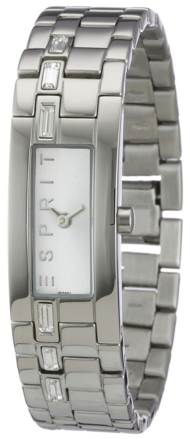 Esprit Dress Dameklokke ES900502001 Sølvfarget/Stål - Esprit