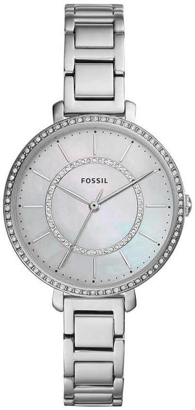 Fossil Jocelyn Dameklokke ES4451 Hvit/Stål Ø36 mm - Fossil