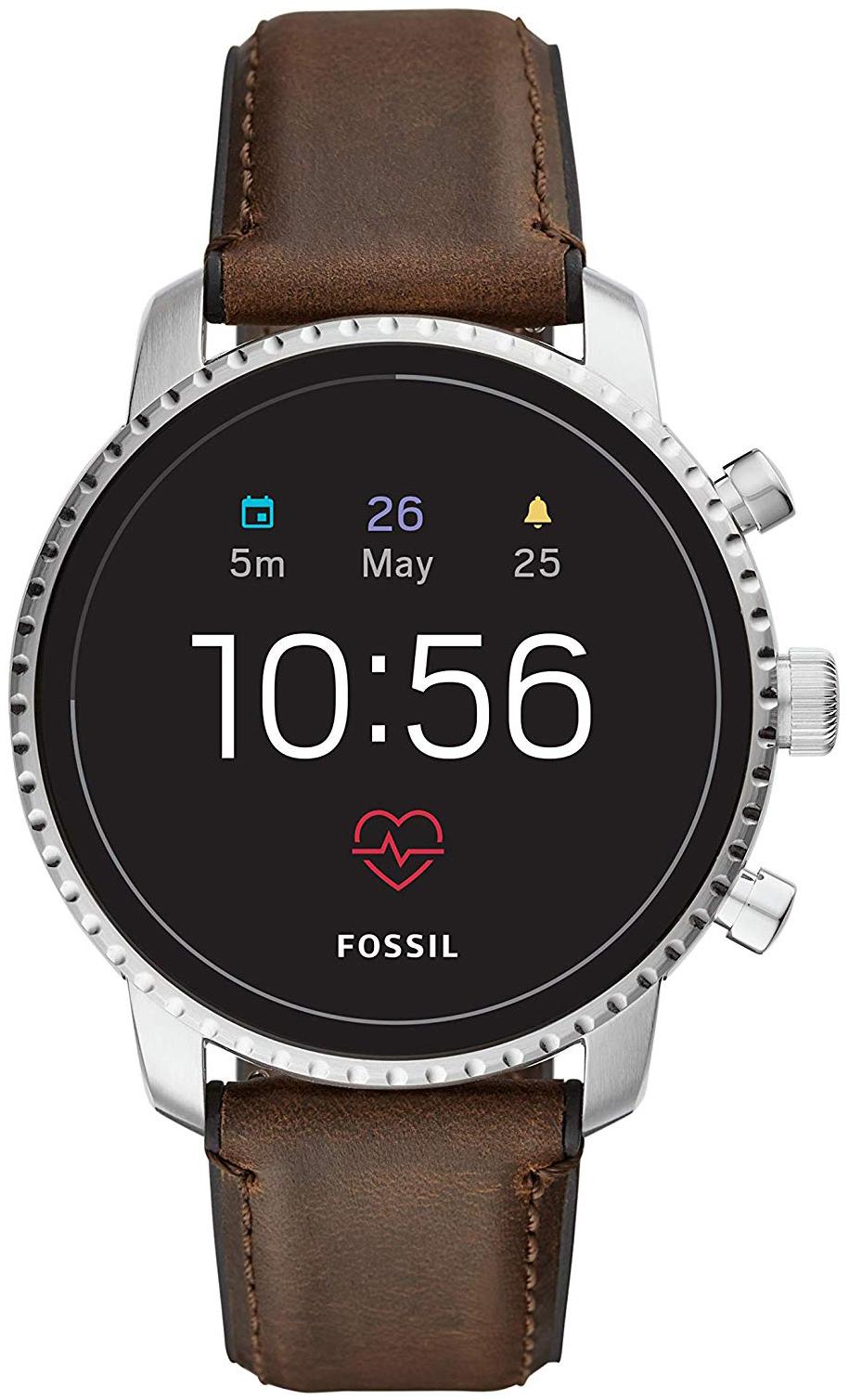 Fossil 99999 Herreklokke FTW4015 LCD/Lær Ø45 mm - Fossil
