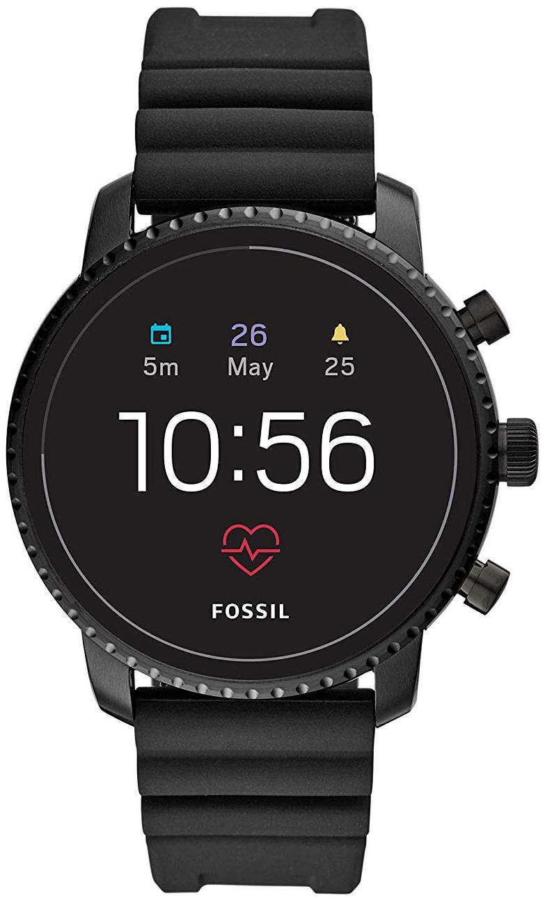 Fossil 99999 Herreklokke FTW4018 LCD/Gummi Ø45 mm - Fossil