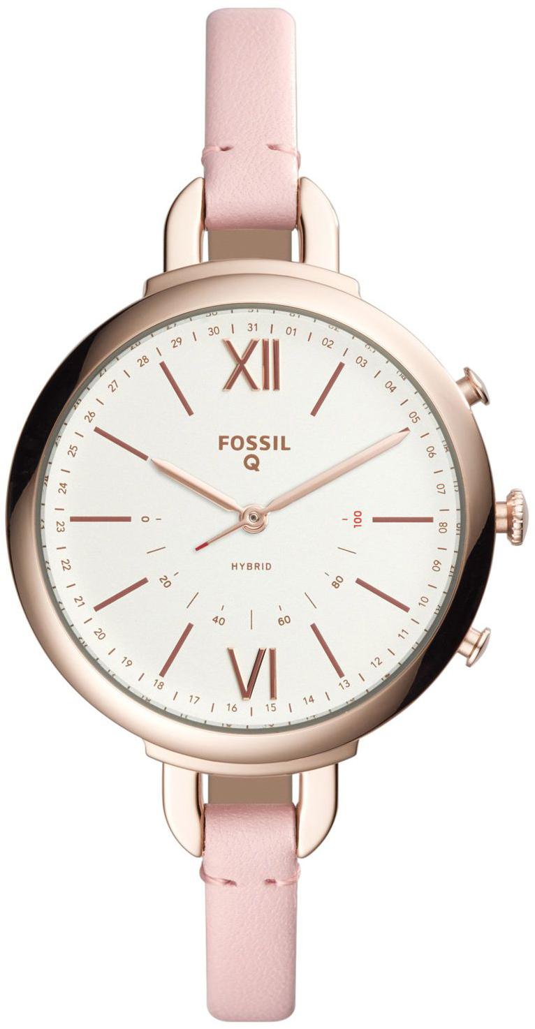 Fossil 99999 Dameklokke FTW5023 Hvit/Lær Ø38 mm - Fossil