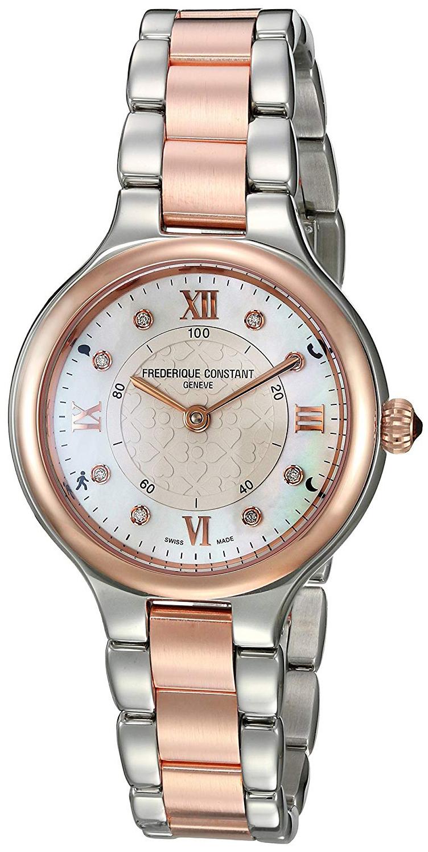 Frederique Constant Horological Smartwatch Dameklokke FC-281WHD3ER2B - Frederique Constant