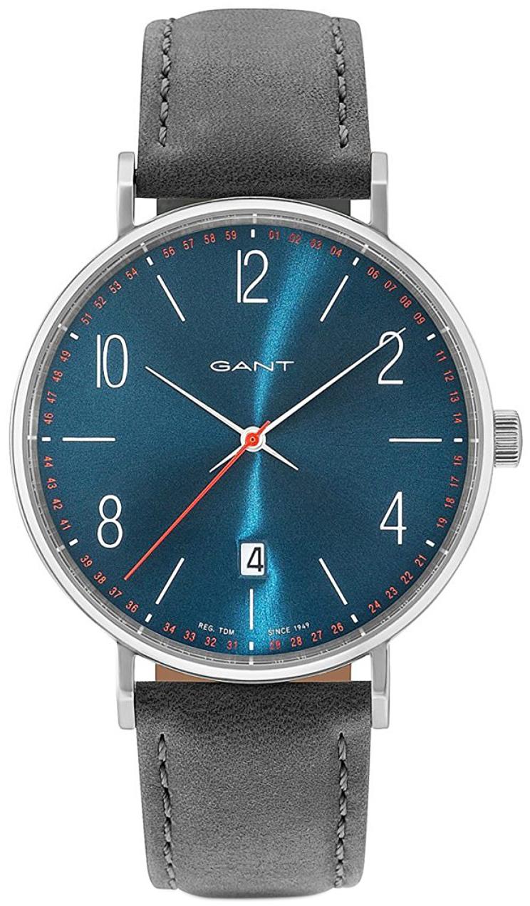 Gant 99999 Herreklokke GT034006 Blå/Lær Ø41 mm - Gant