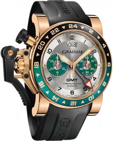 Graham Chronofighter Oversize Herreklokke 2OVGR.S06A - Graham