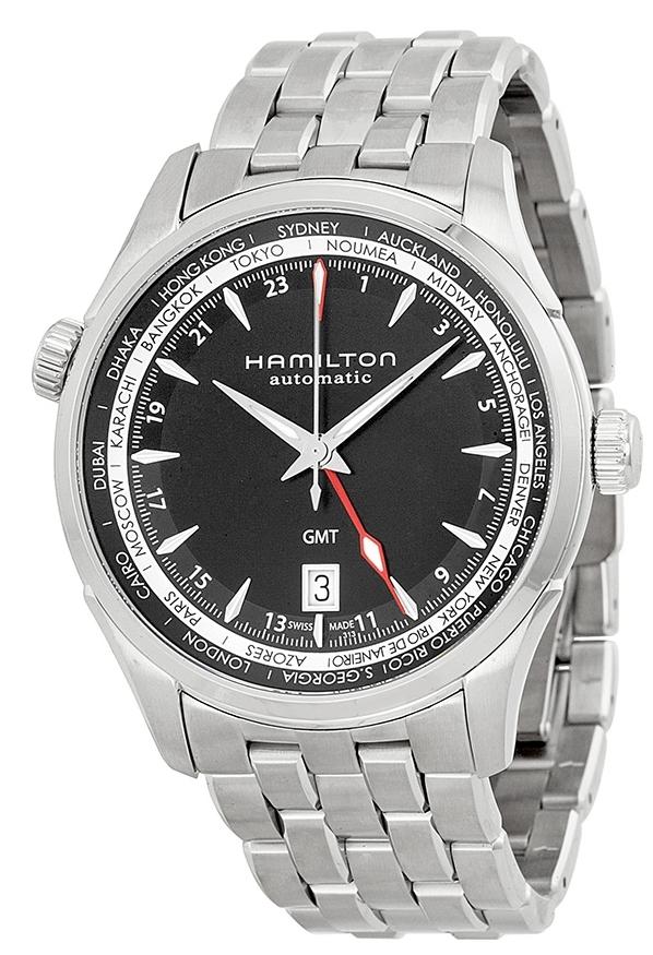 Hamilton American Classic Jazzmaster Herreklokke H32695131 Sort/Stål - Hamilton
