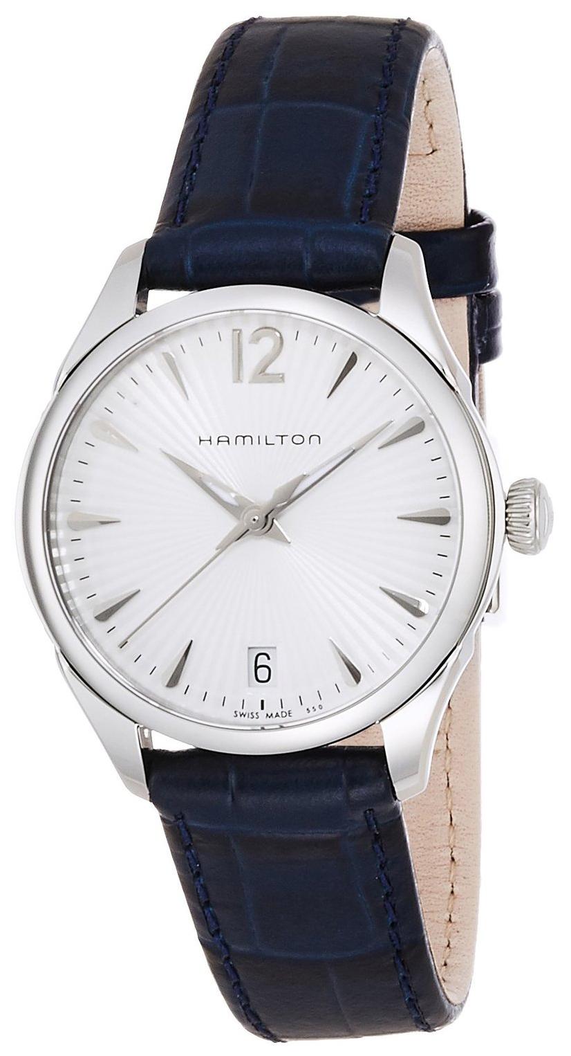 Hamilton American Classic Jazzmaster Dameklokke H42211655 Hvit/Lær - Hamilton