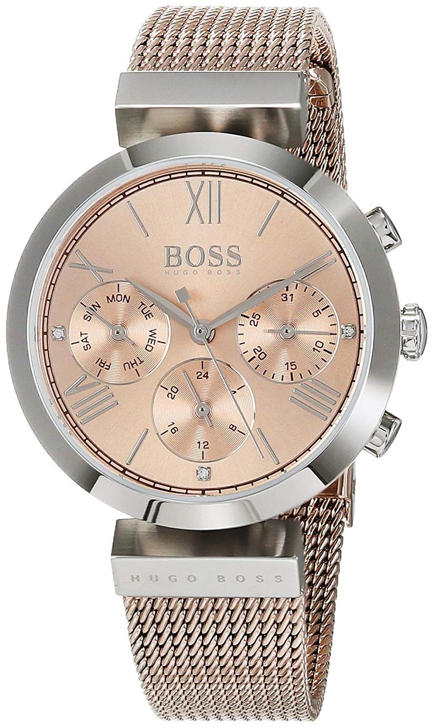 Hugo Boss Classic Dameklokke 1502426 Rosegullfarget/Rose-gulltonet - Hugo Boss