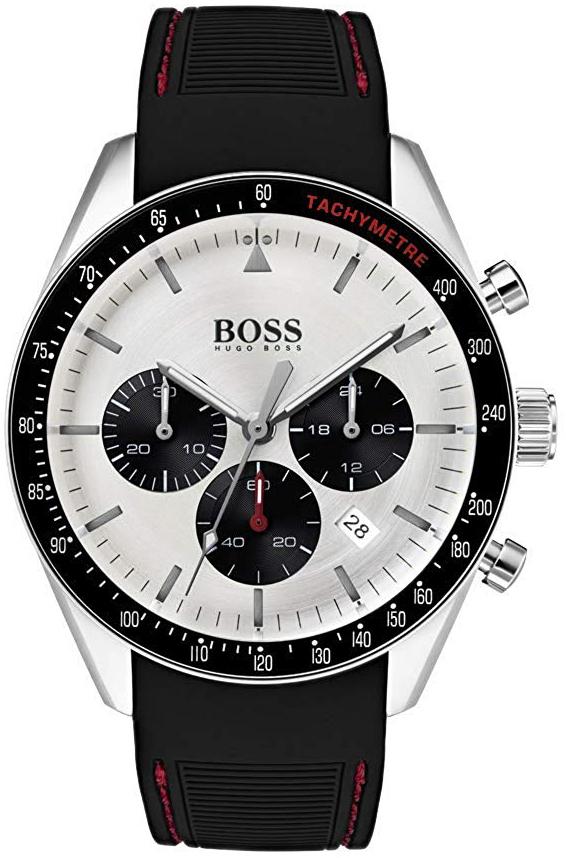 Hugo Boss 99999 Herreklokke 1513627 Hvit/Gummi Ø44 mm - Hugo Boss