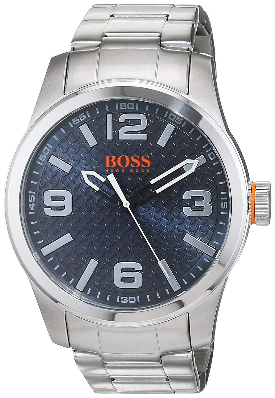 Hugo Boss Paris Herreklokke 1550050 Blå/Stål Ø44 mm - Hugo Boss
