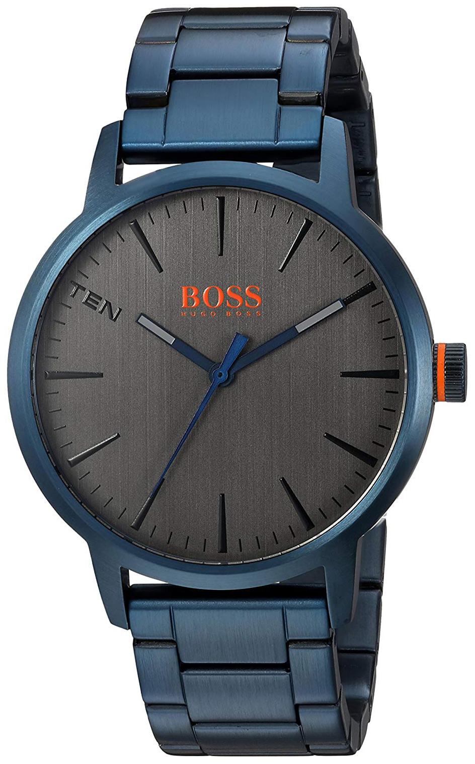 Hugo Boss 99999 Herreklokke 1550059 Grå/Stål Ø42 mm - Hugo Boss