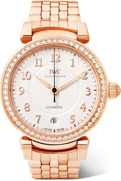 IWC Da Vinci Herreklokke IW458310 Sølvfarget/18 karat rosé gull - IWC