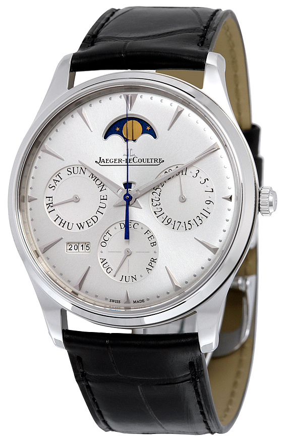 Jaeger LeCoultre Master Ultra Thin Perpetual Stainless Steel - Jaeger LeCoultre