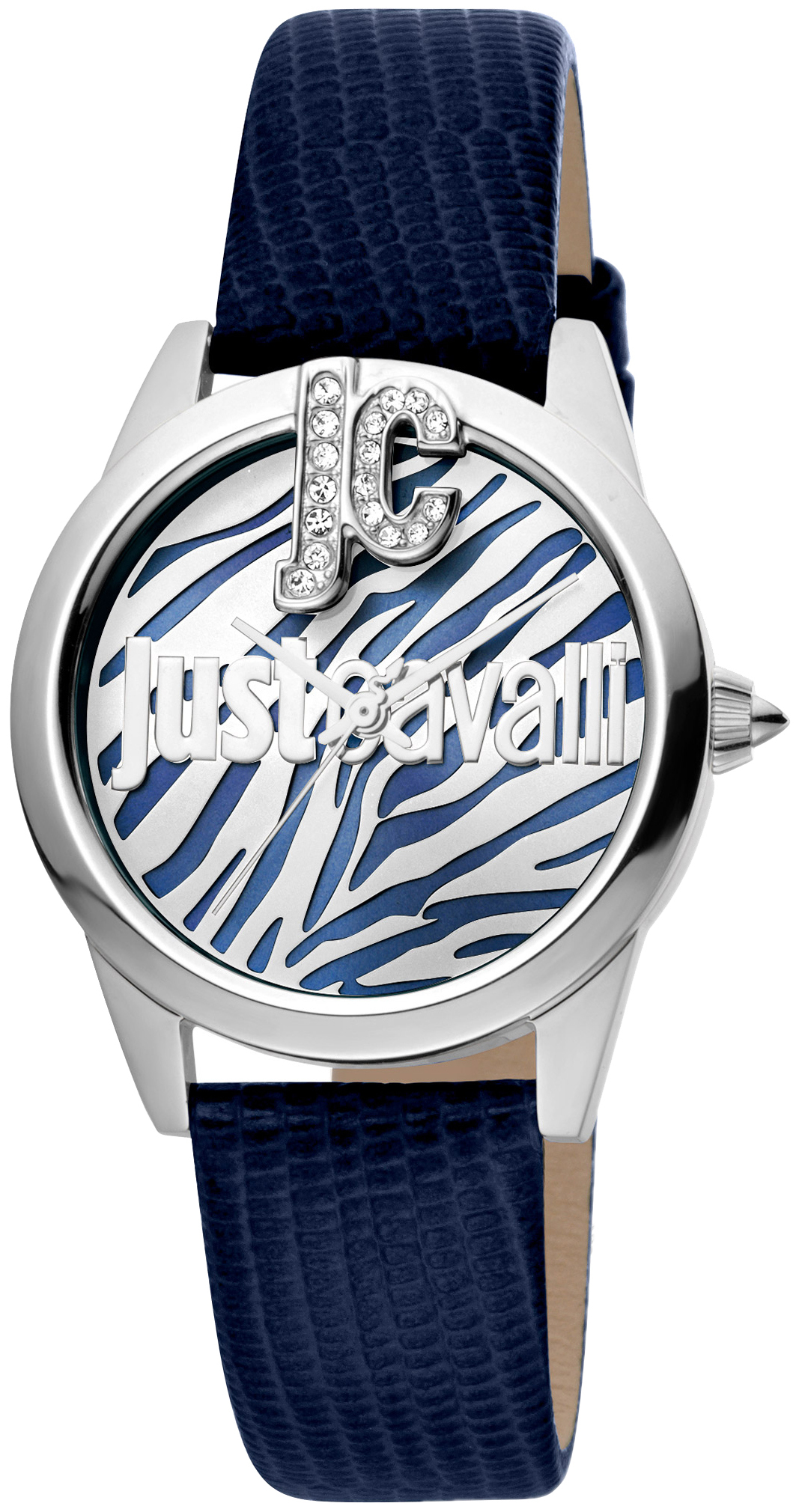 Just Cavalli 99999 Dameklokke JC1L099L0015 Flerfarget/Lær Ø32 mm - Just Cavalli