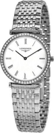 Longines Grande Classique Dameklokke L4.513.0.11.6 Hvit/Stål Ø29 mm - Longines