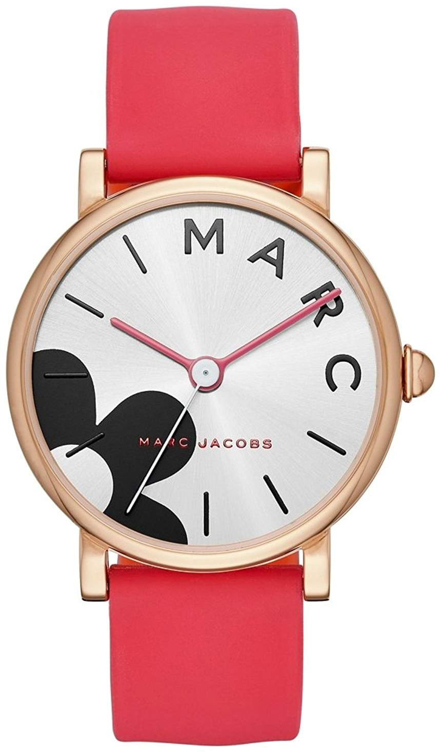 Marc by Marc Jacobs 99999 Dameklokke MJ1623 Hvit/Gummi Ø36 mm - Marc by Marc Jacobs