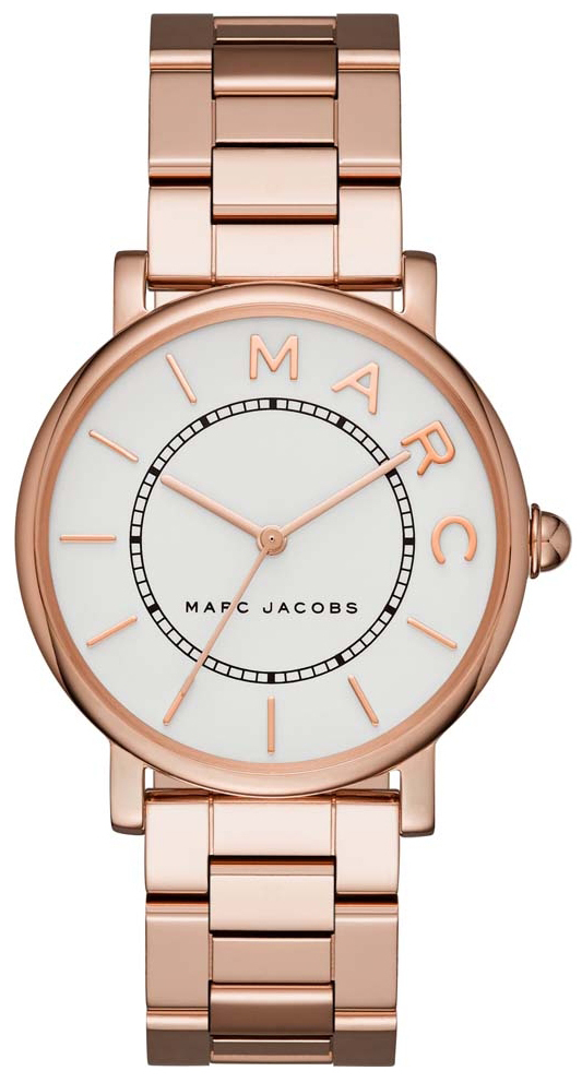 Marc by Marc Jacobs 99999 Dameklokke MJ3523 Hvit/Rose-gulltonet stål - Marc by Marc Jacobs