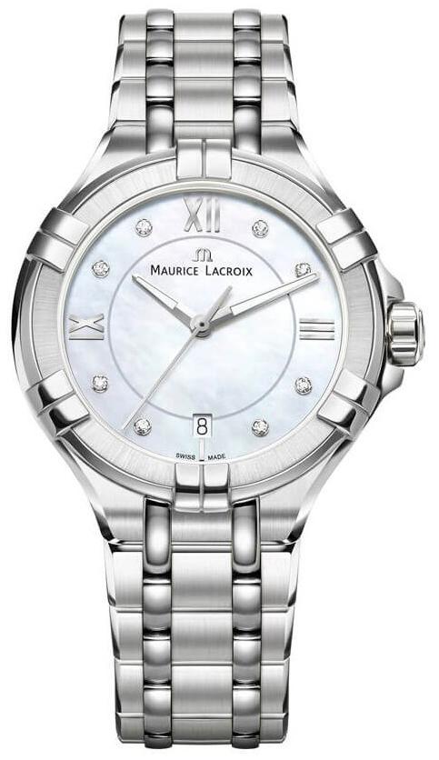 Maurice Lacroix Aikon Lady Quartz Dameklokke AI1006-SS002-170-1 - Maurice Lacroix