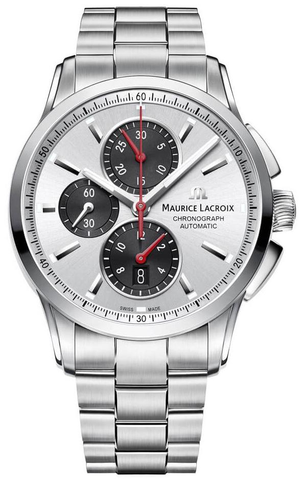 Maurice Lacroix Pontos Chronographe Herreklokke PT6388-SS002-131-1 - Maurice Lacroix